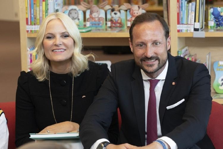 Księżna Norwegii Mette-Marit i jej mąż