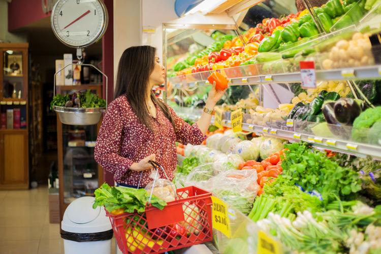 Warzywa supermarket