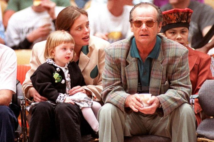 Lorraine Nicholson, Jack Nicholson i Rebecca Broussard