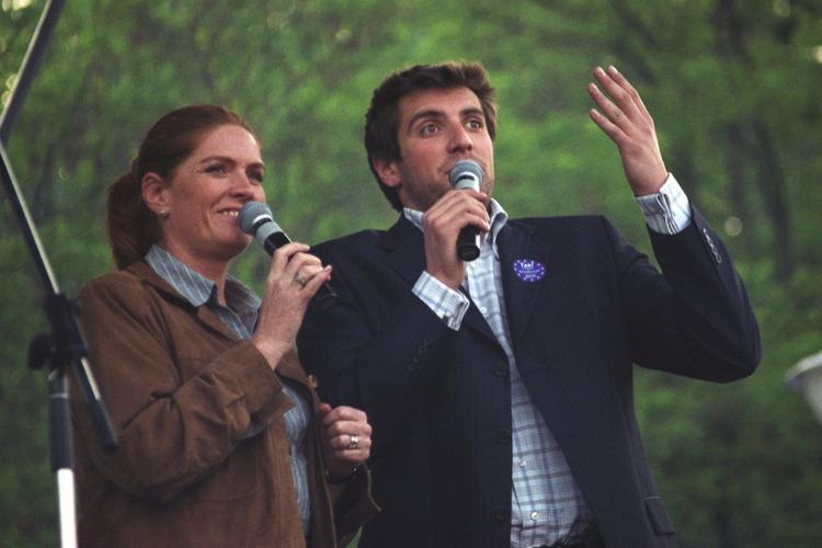 Katarzyna Dowbor i Maciej Dowbor