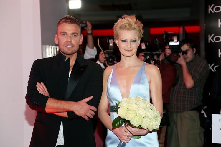 Małgorzata Kożuchowska i Dawid Woliński