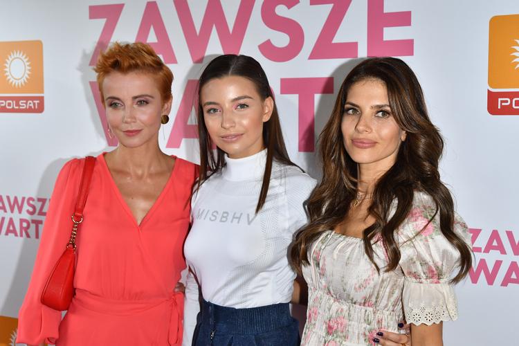 Julia Wieniawa, Weronika Rosati, Katarzyna Zielińska