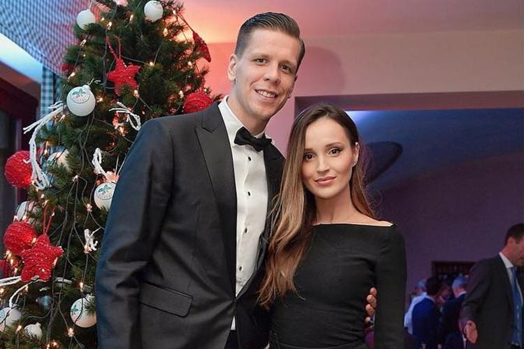 Marina Łuczenko i Wojciech Szczęsny