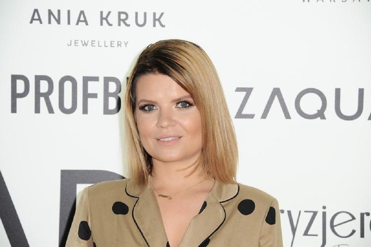 Marta Manowska na ściance
