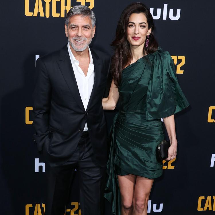 George i Amal Clooney George i Amal Clooney