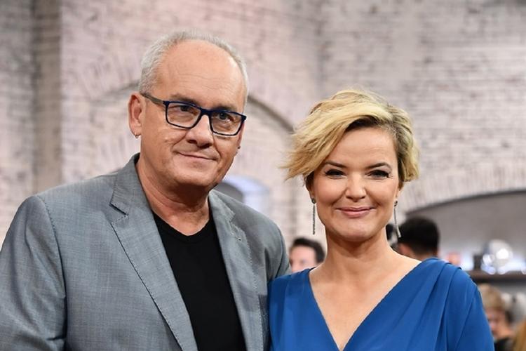 Michał Olszański i Monika Zamachowska