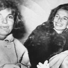 Lee Radziwiłł (po prawej) z siostrą Jackie Kennedy