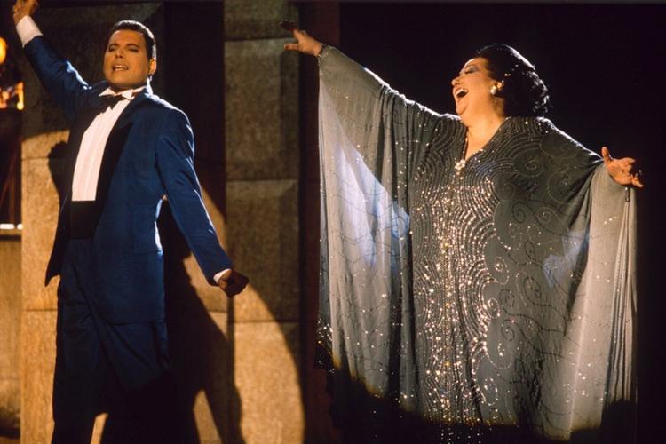 Montserrat Caballe i Freddie Mercury