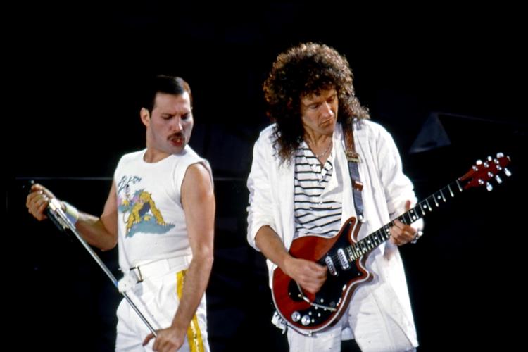 Freddie Mercury i Brian May