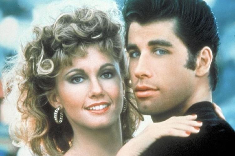 Olivia Newton-John i John Travolta