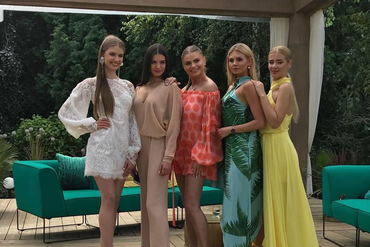 polka w konkursie supermodel