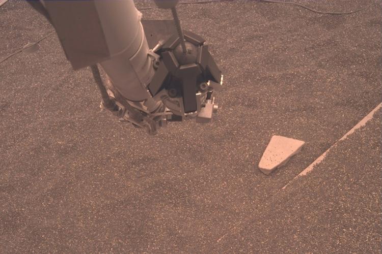 InSight na Marsie