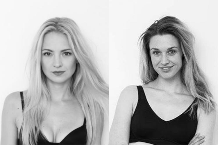 Julia Kamińska i Basia Kurdej Szatan w bieliźnie