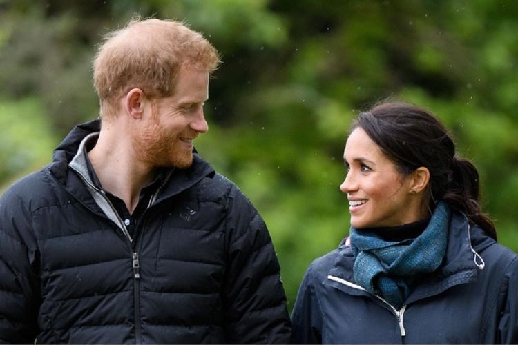Książe Harry i księżna Meghan