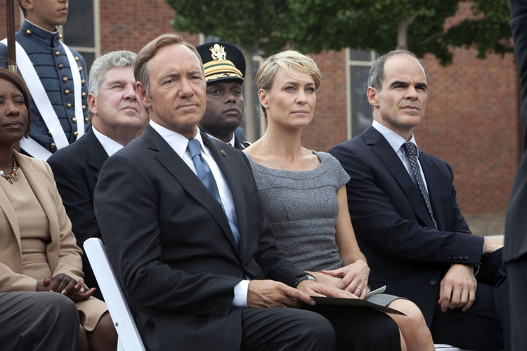 "Kein Spacey i Robin Wright w ""House of Cards"""