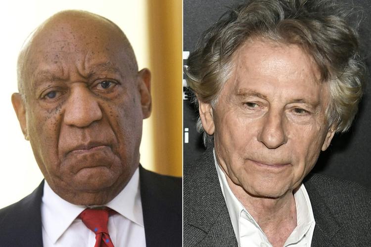 Roman Polański i Bill Cosby