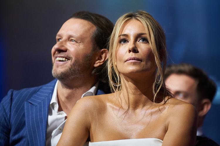 Małgorzata Rozenek-Majdan i Radosław Majdan na ramówce TVN-u wiosna 2018