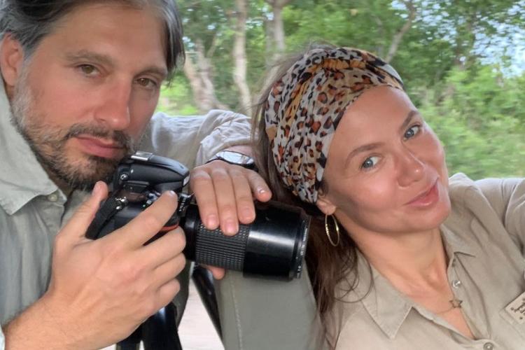 Marek Kujawa i Kinga Rusin razem na Safari