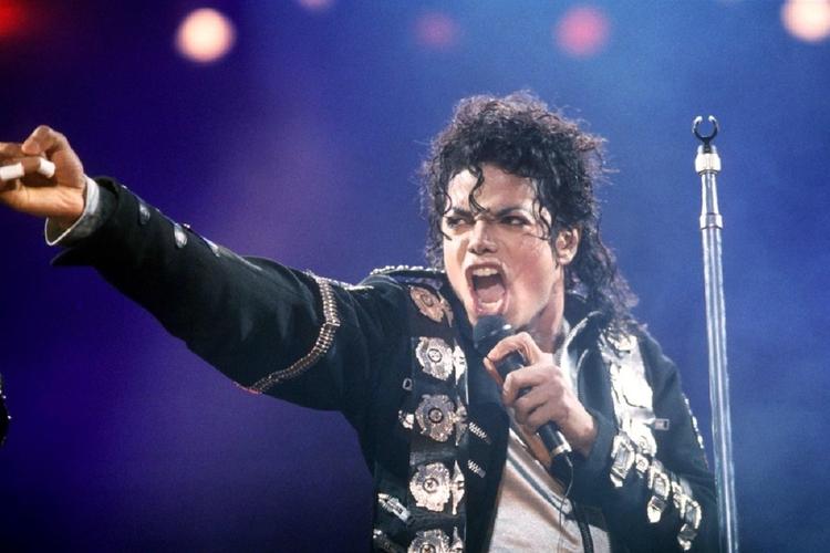Michael Jackson na koncercie