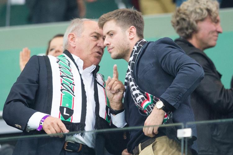 Mikołaj Niemczycki z ojcem