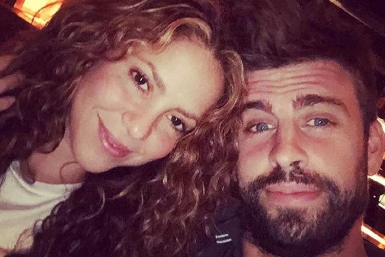Shakira z partnerem