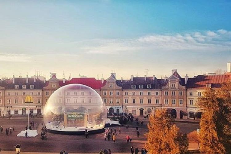 Szklana kula w Lublinie
