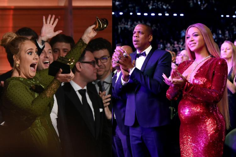 Adele Beyonce Grammy 2017