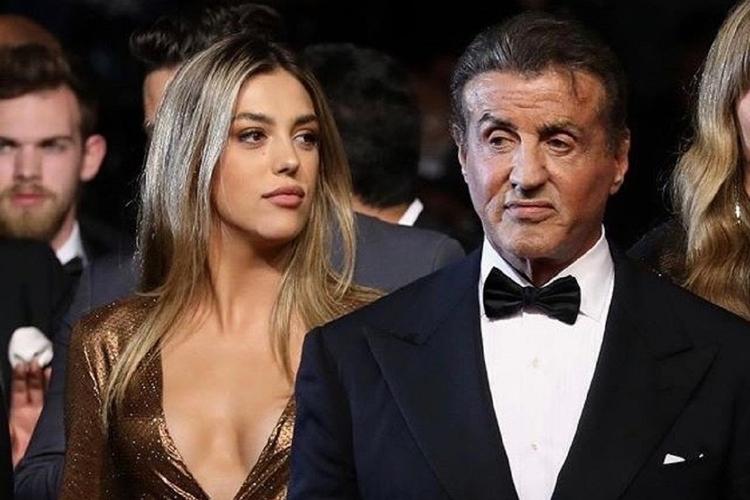 Sylvester Stallone z córką