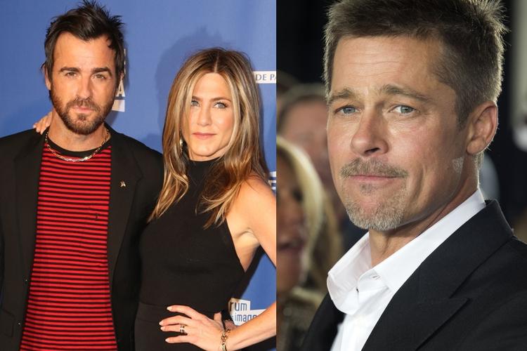 Justin Theroux znalazł listy miłosne Brada Pitta do Jennifer Aniston