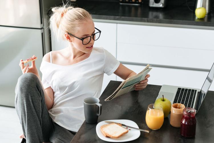 śniadanie w social mediach