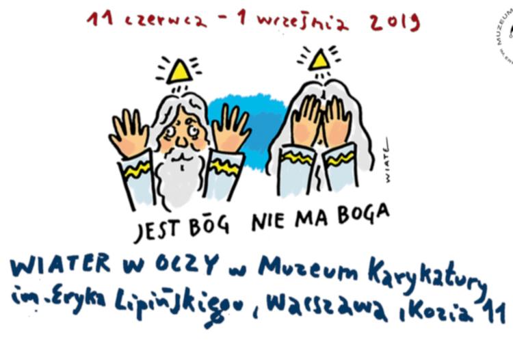 Tomasz Wiater z indwyidualną wystawą w Muzeum Karykatury w Warszawie