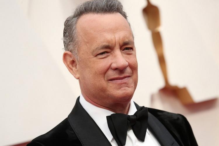 Tom Hanks z żoną