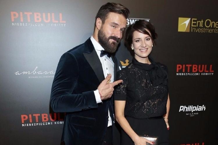 Maja Ostaszewska i Piotr Stramowski