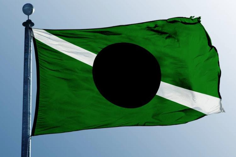 Flaga państwa Kabuto
