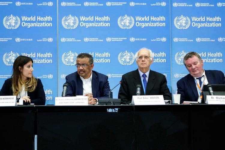 Światowa Organizacja Zdrowia - przywódcy podczas konwerencji