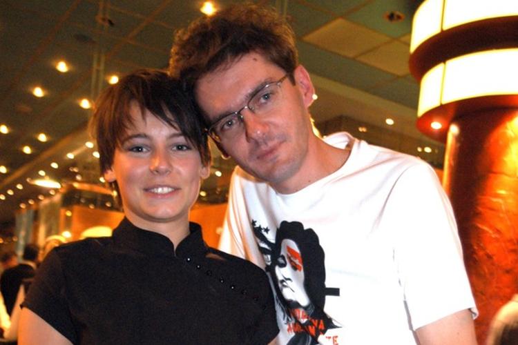 Anna Mucha i Kuba Wojewódzki w 2003 roku