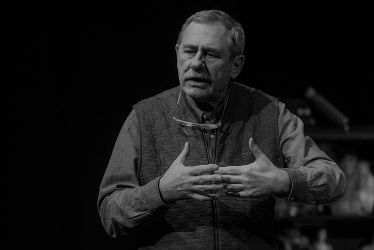 Andrzej Strzelecki podczas festiwali Dwa Teatry
