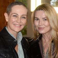 Anna Puślecka i Hanna Lis