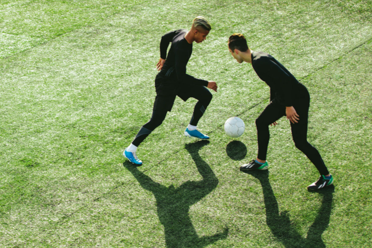 piłkarze murawa