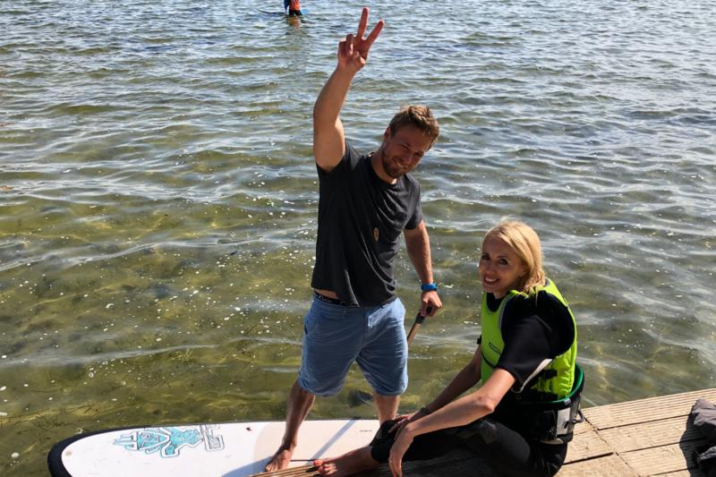 ABC kitesurfingu dla opornych - rozmowa z Victorem Borsukiem