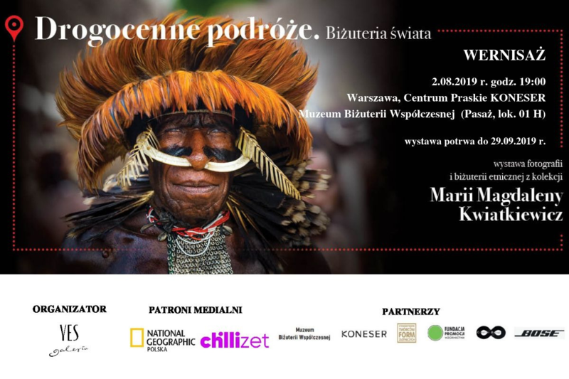 Drogocenne podróże - wystawa fotografii oraz biżuterii Marii Magdaleny Kwiatkiewicz