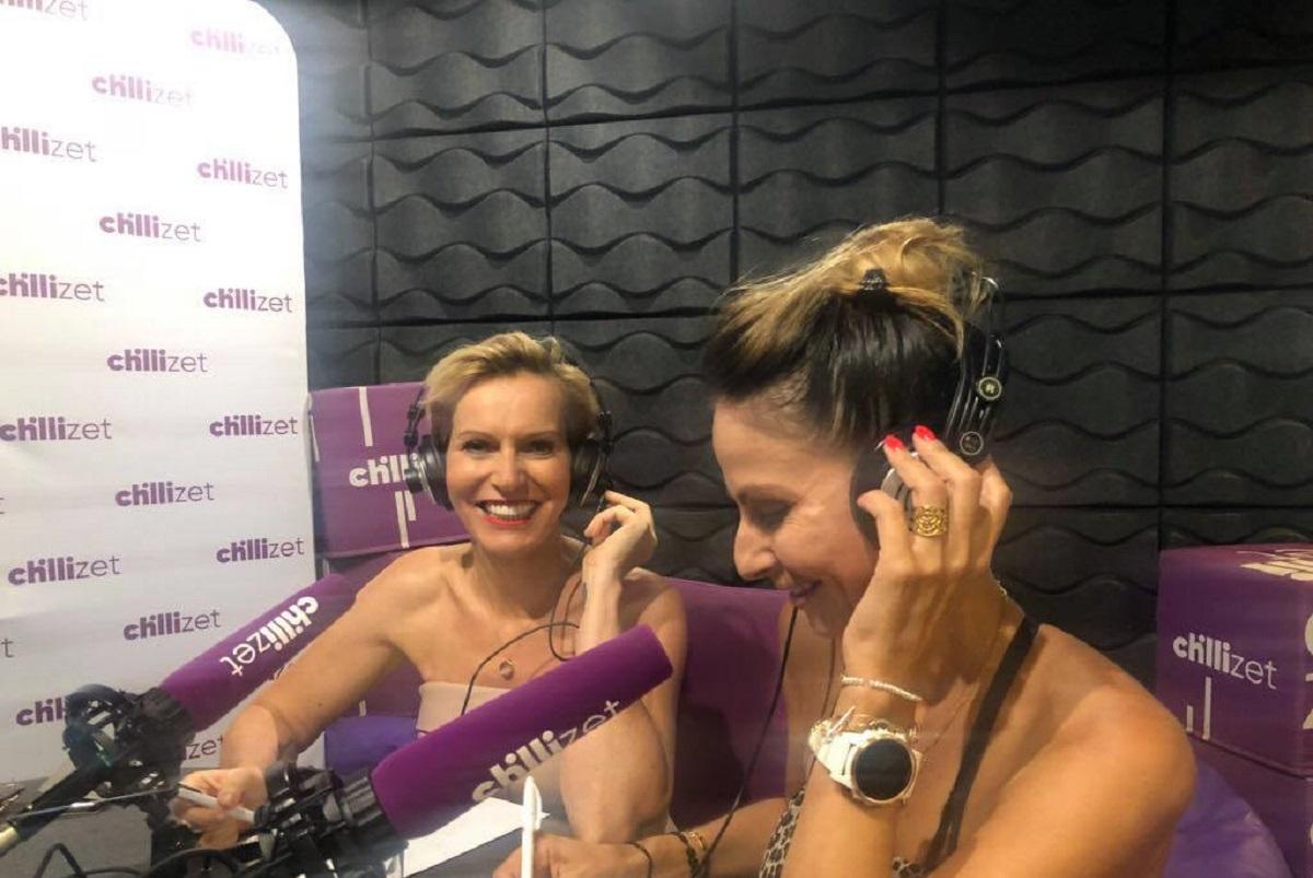 Paulina Smaszcz-Kurzajewska i Kalina Ben Sira