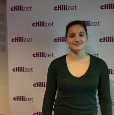 Zuzanna Grudniak w studiu Chillizet