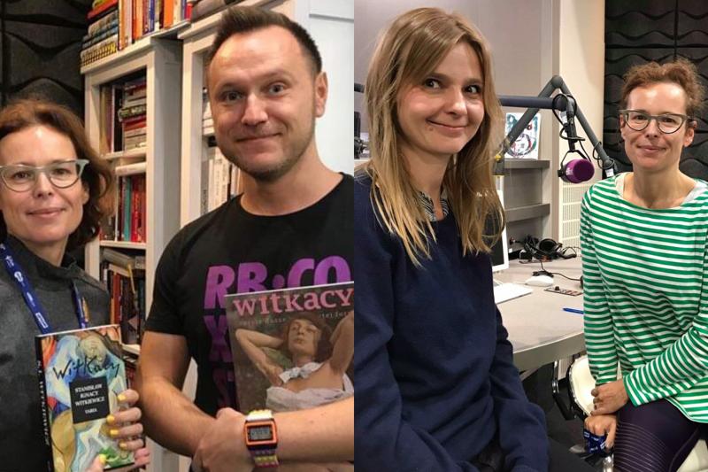 Przemysław Pawlak i Marta Szarejko gośćmi audycji Agaty Passent w Chillizet