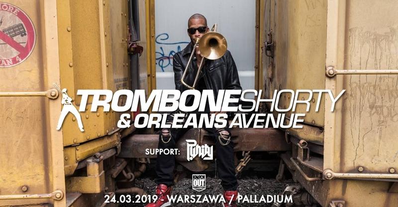 Trombone Shorty & Orleans Avenue po raz kolejny w Polsce!